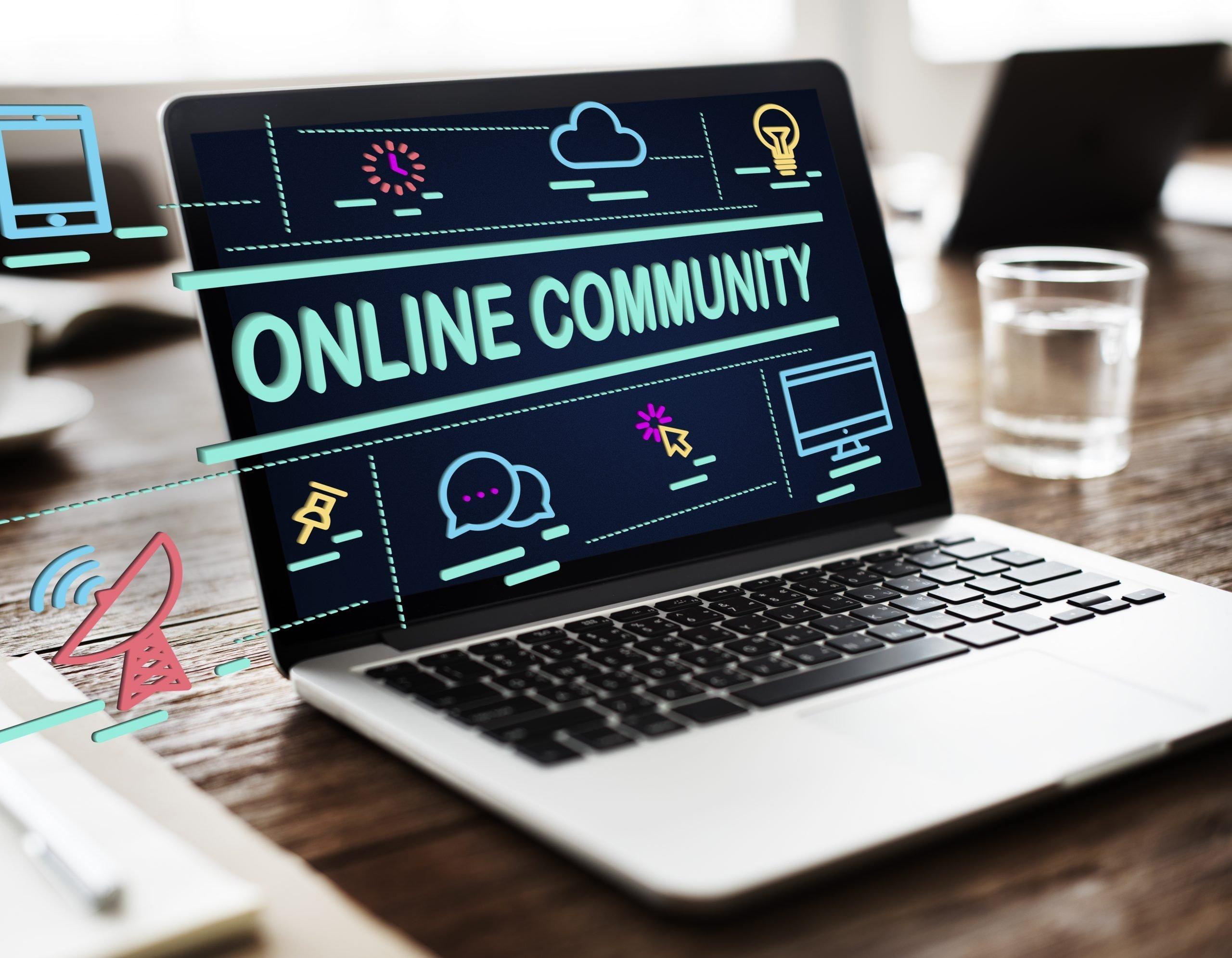 virtual social community